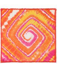Loewe Paula's Ibiza pañuelo con print tie-dye - Rosa