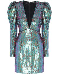 Dundas Vestido de lentejuelas - Verde
