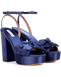 Tabitha Simmons - Jodie Satin Sandals - Lyst