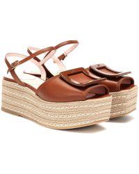 Roger Vivier Bikiviv 70 Sandals - Brown