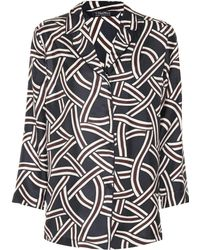 Max Mara - Selim Silk Twill Shirt - Lyst