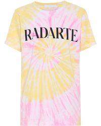 Rodarte Radarte Tie-dye T-shirt - Multicolour