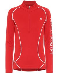 Perfect Moment Half-zip Thermal Top - Red