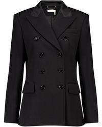Chloé Virgin Wool Blazer - Black