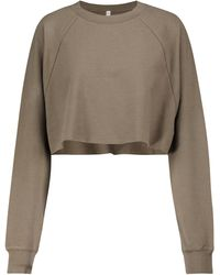 Alo Yoga Double Take Cropped Sweatshirt - Multicolor