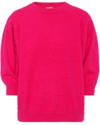 Caroline Constas - June Angora-blend Sweater - Lyst