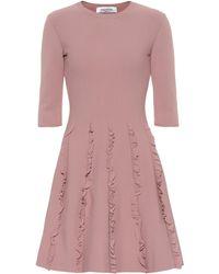 Valentino - Jersey Knit Dress - Lyst