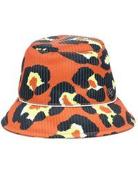 Maison Michel - Cappello da pescatore Souna a stampa - Lyst