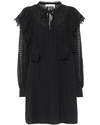 See By Chloé - Cotton-voile Minidress - Lyst