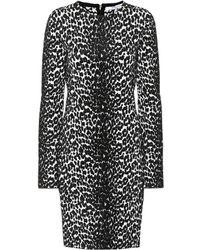 Givenchy - Leopard Jacquard Dress - Lyst