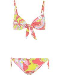 Emilio Pucci Printed Bikini - Multicolor