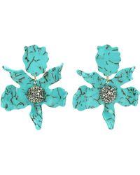 Lele Sadoughi - Crystal Clip-on Earrings - Lyst