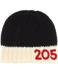 CALVIN KLEIN 205W39NYC Knitted Wool Beanie - Multicolor
