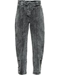 Ulla Johnson Carmen High-rise Tapered Jeans - Multicolour