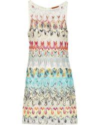 Missoni Cotton-blend Minidress - Multicolor