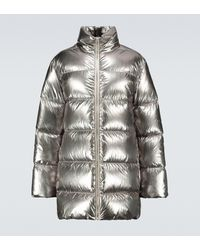 Rick Owens Moncler + chaqueta - Metálico