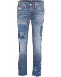 Polo Ralph Lauren Jeans Waverly aus Stretch-Baumwolle - Blau