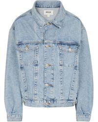 Agolde Charli Denim Jacket - Blue