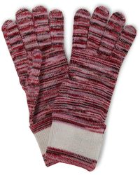 Missoni Space-dyed Wool Gloves - Red