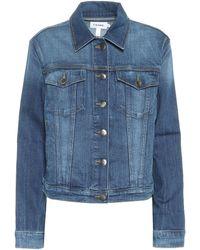 FRAME Le Vintage Denim Jacket - Blue