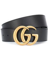 Gucci Cintura 'Double G' - Nero