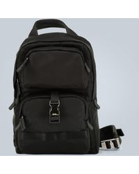 Prada Single Strap Backpack - Black