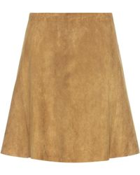 Stouls - Swing Suede Skirt - Lyst