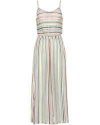 Missoni - Jumpsuit a righe - Lyst