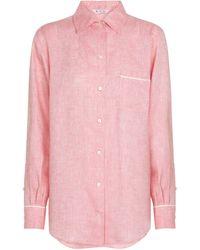 Loro Piana Exclusive To Mytheresa – Neo André Linen Shirt - Pink