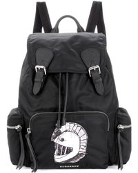 Burberry | The Large Backpack With Pallas Heads Appliqué | Lyst