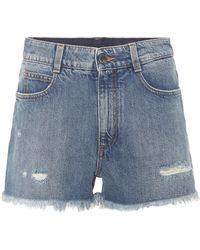 Stella McCartney - Denim Shorts - Lyst