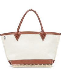 Altuzarra Exclusive To Mytheresa – Espadrille Small Canvas Tote - Natural