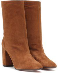 Aquazzura Ankle Boots Boogie 85 - Braun
