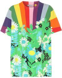 Moncler Genius T-shirt en coton 8 MONCLER RICHARD QUINN - Vert
