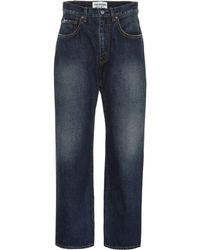 Junya Watanabe Jeans mit weitem Bein - Blau