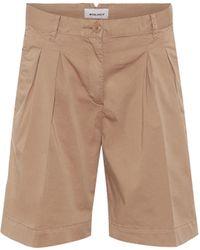 Woolrich Shorts W'S de algodón elastizado - Neutro