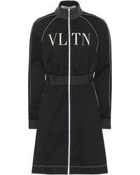 Valentino - Vltn Technical Jersey Dress - Lyst