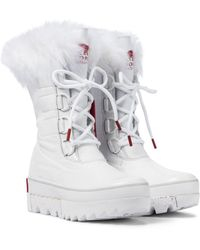 Sorel Joan Of Arctic Next Leather Boots - White