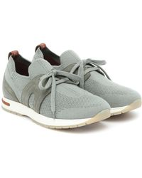 Loro Piana 360 Flexy Walk Trainers - Grey