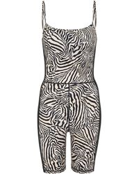 The Upside - Jumpsuit Spin a stampa zebra - Lyst