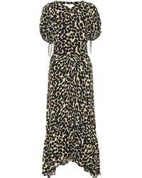 Proenza Schouler Printed Maxi Dress - Black
