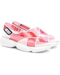 Prada Wedge-Sandalen - Pink