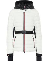 3 MONCLER GRENOBLE 'bruche' Quilted Down Jacket - White