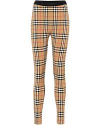 Burberry Leggings - Multicolore
