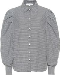FRAME - Extreme Gingham Cotton Shirt - Lyst