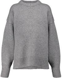 The Row Pullover Ophelia mit Kaschmiranteil - Grau