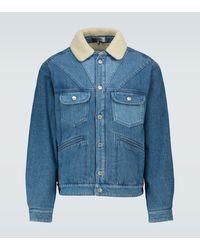 Isabel Marant Jarepa Denim Jacket - Blue