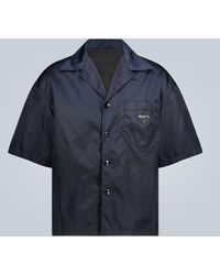 Prada Camicia in nylon - Blu