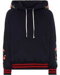 Mother - The Square Embroidered Hoodie - Lyst