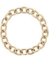 Ileana Makri Armband aus 14kt Gold mit Diamanten - Mettallic